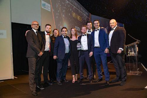 EDEX WINS BEST INTERNATIONAL TRADE SHOW AT LONDON AWARDS