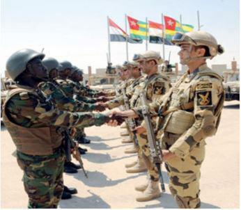 Egypt, Togo Conclude Joint Military Drills