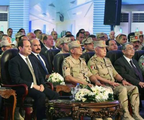 Egyptian President Inaugurates Military Hospital