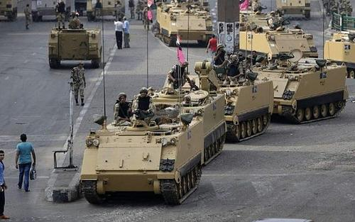 Forces from Egypt and 5 other nations to start 'Arab Shield' joint military exercise